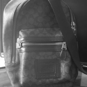 Coach Academy Pack In Signature Canvas